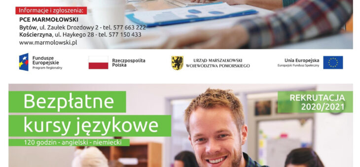 """Prywatne Centrum Edukacyjne """"Marmołowski"""" s.c. realizuje  kursy – komputerowe oraz językowe"""